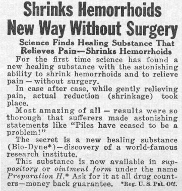 PREPARATION H PHOTOPLAY 08/01/1956 p. 93