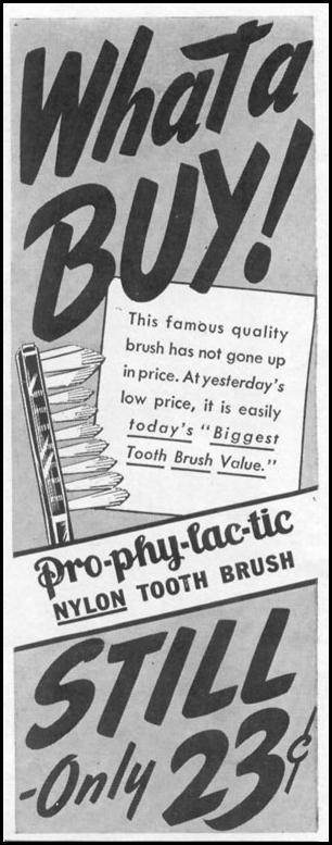 PRO-PHY-LAC-TIC NYLON TOOTHBRUSH LIFE 11/02/1942 p. 6