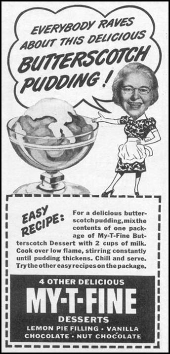 MY-T-FINE PUDDING WOMAN'S DAY 11/01/1945 p. 116