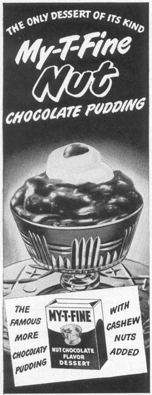 MY-T-FINE PUDDING WOMAN'S DAY 12/01/1948 p. 110