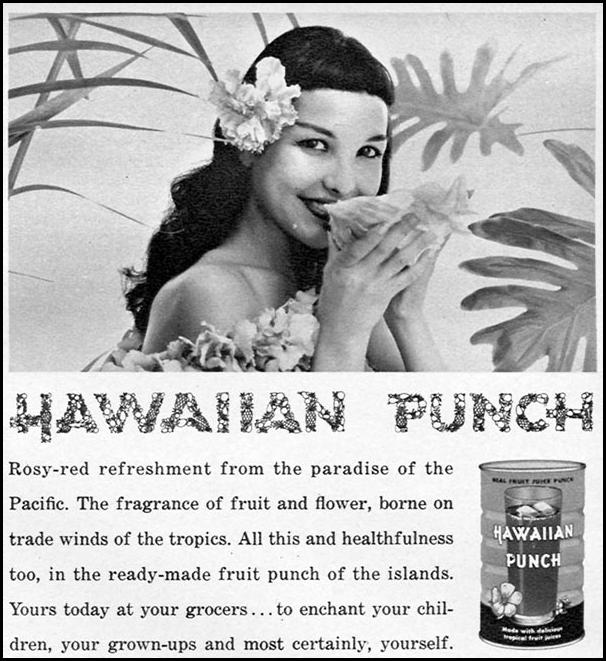 HAWAIIAN PUNCH FAMILY CIRCLE 11/01/1957 p. 65