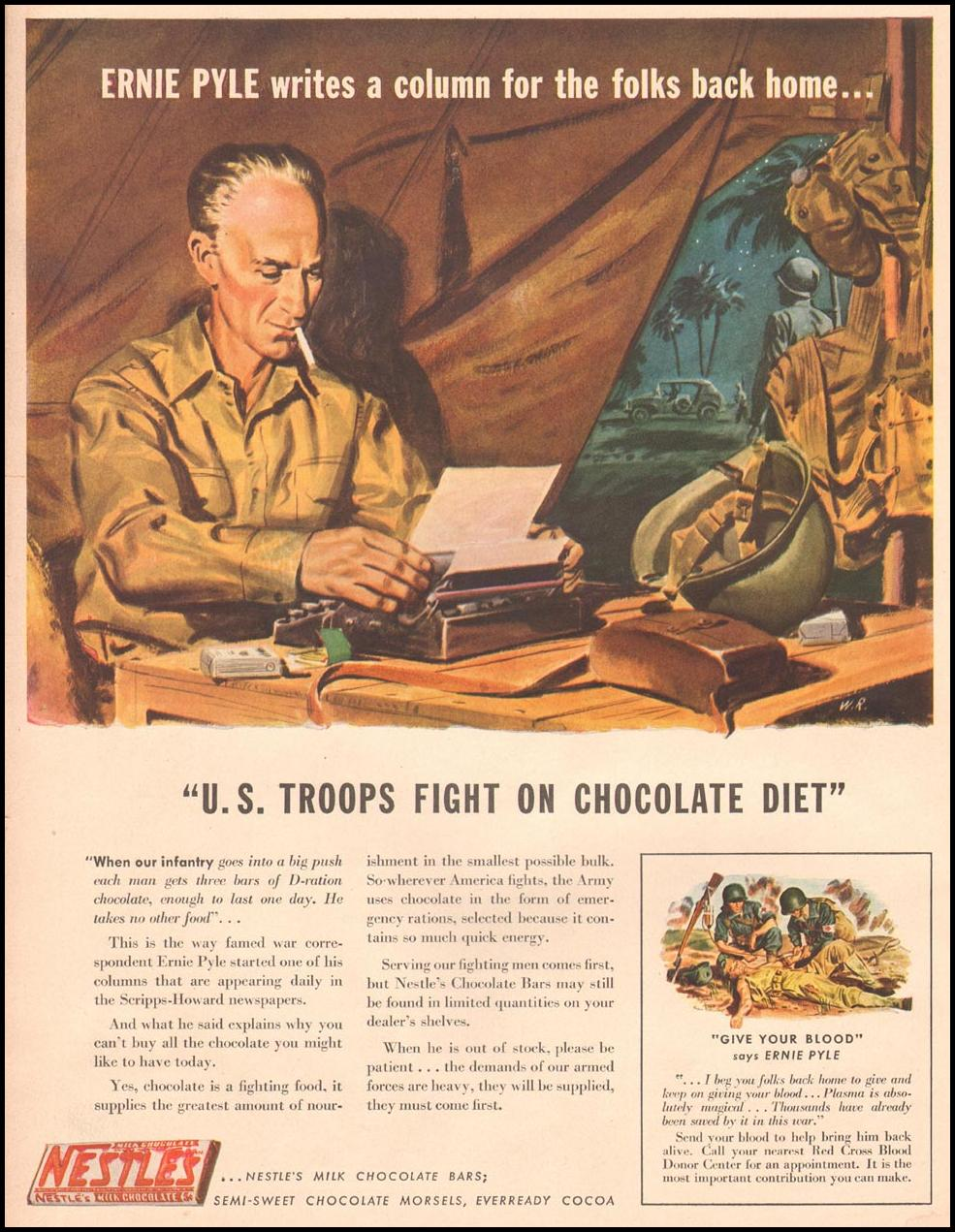NESTLE'S CHOCOLATE LIFE 10/11/1943 p. 68