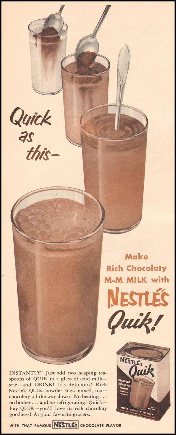 NESTLE'S QUIK LIFE 10/13/1952 p. 10