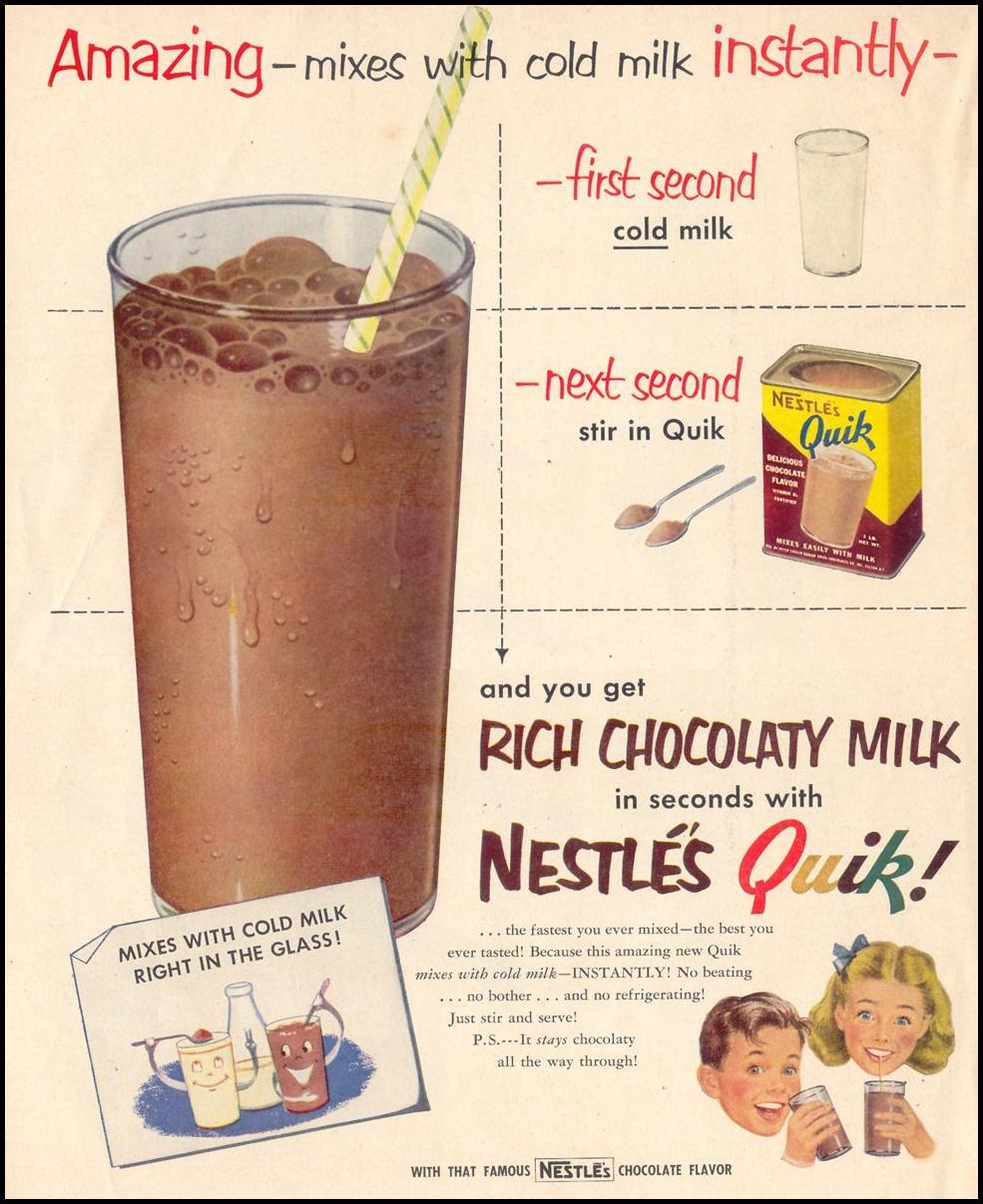 NESTLE'S QUIK LOOK 12/04/1951 p. 58