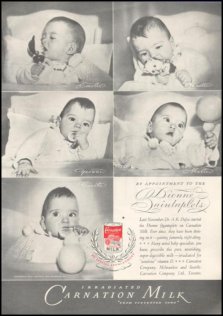 CARNATION IRRADIATED MILK