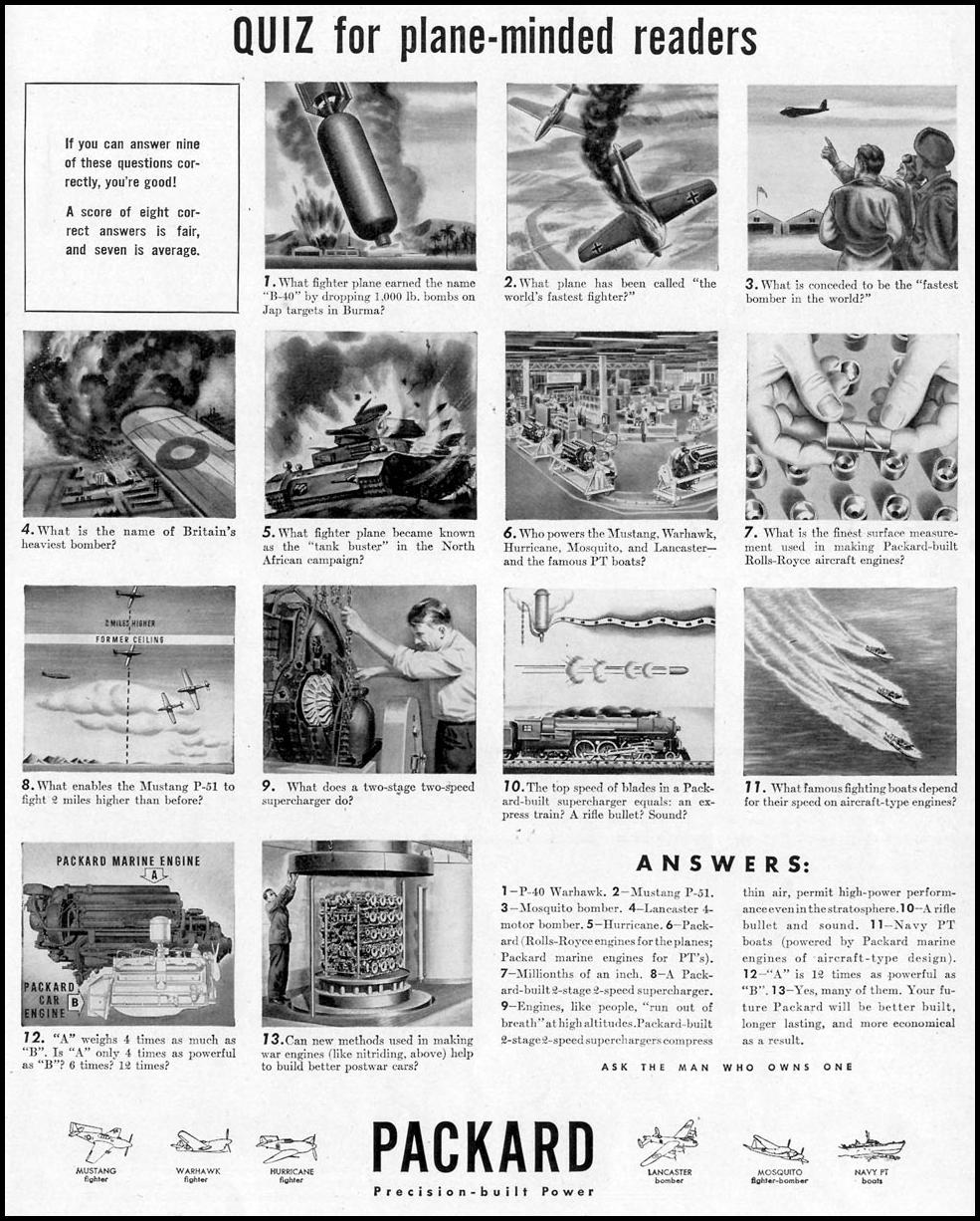 PACKARD WAR PRODUCTION