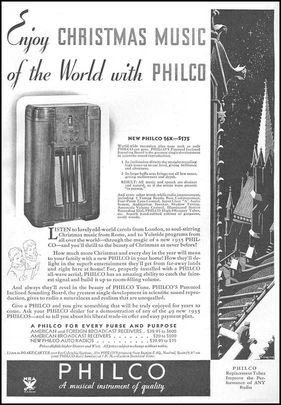 PHILCO RADIOS GOOD HOUSEKEEPING 12/01/1934 p. 5