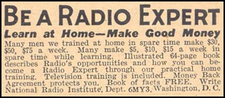 RADIO HOME TRAINING LIBERTY 11/28/1936 p. 61