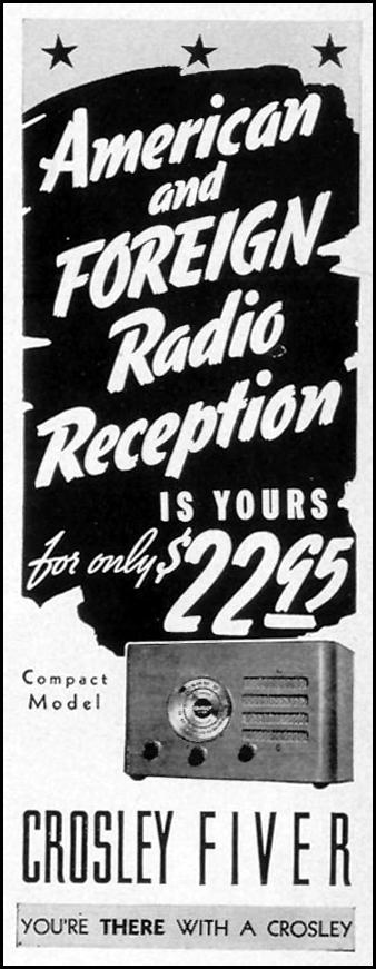 CROSLEY FIVER RADIO LIFE 07/26/1937 p. 12