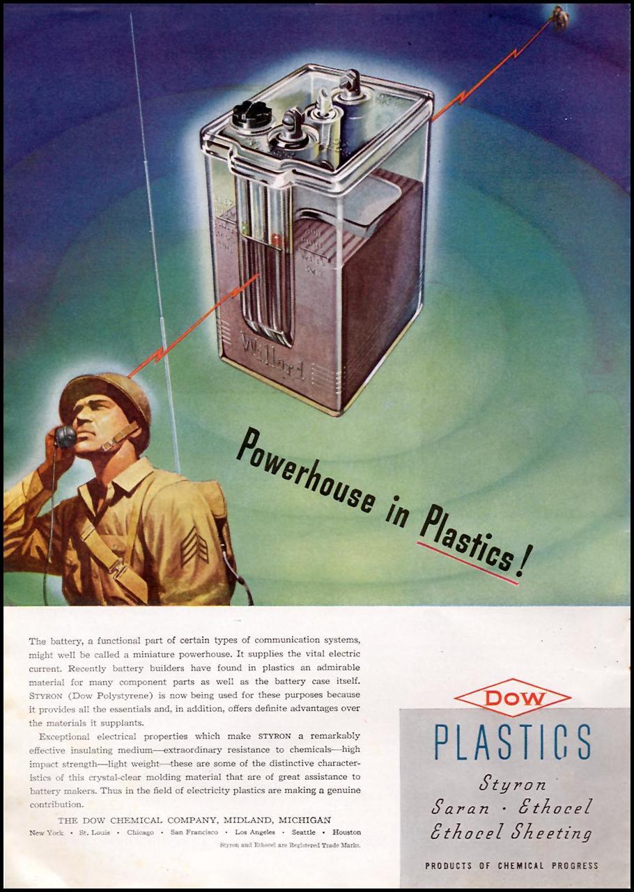 DOW PLASTICS TIME 12/28/1942 p. 36