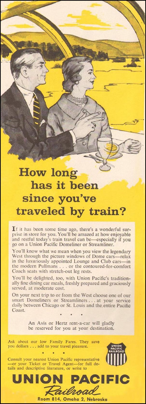 RAIL TRAVEL BETTER HOMES AND GARDENS 03/01/1960 p. 14