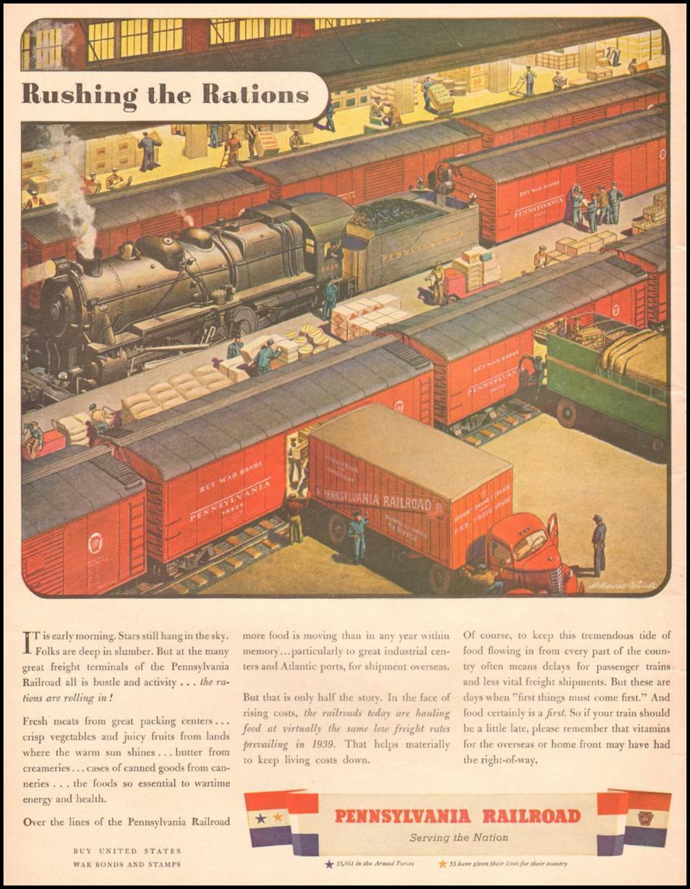 RAILROAD SYSTEM LIFE 10/25/1943