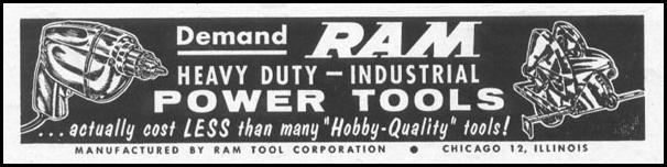 RAM POWER TOOLS LIFE 04/08/1957 p. 142