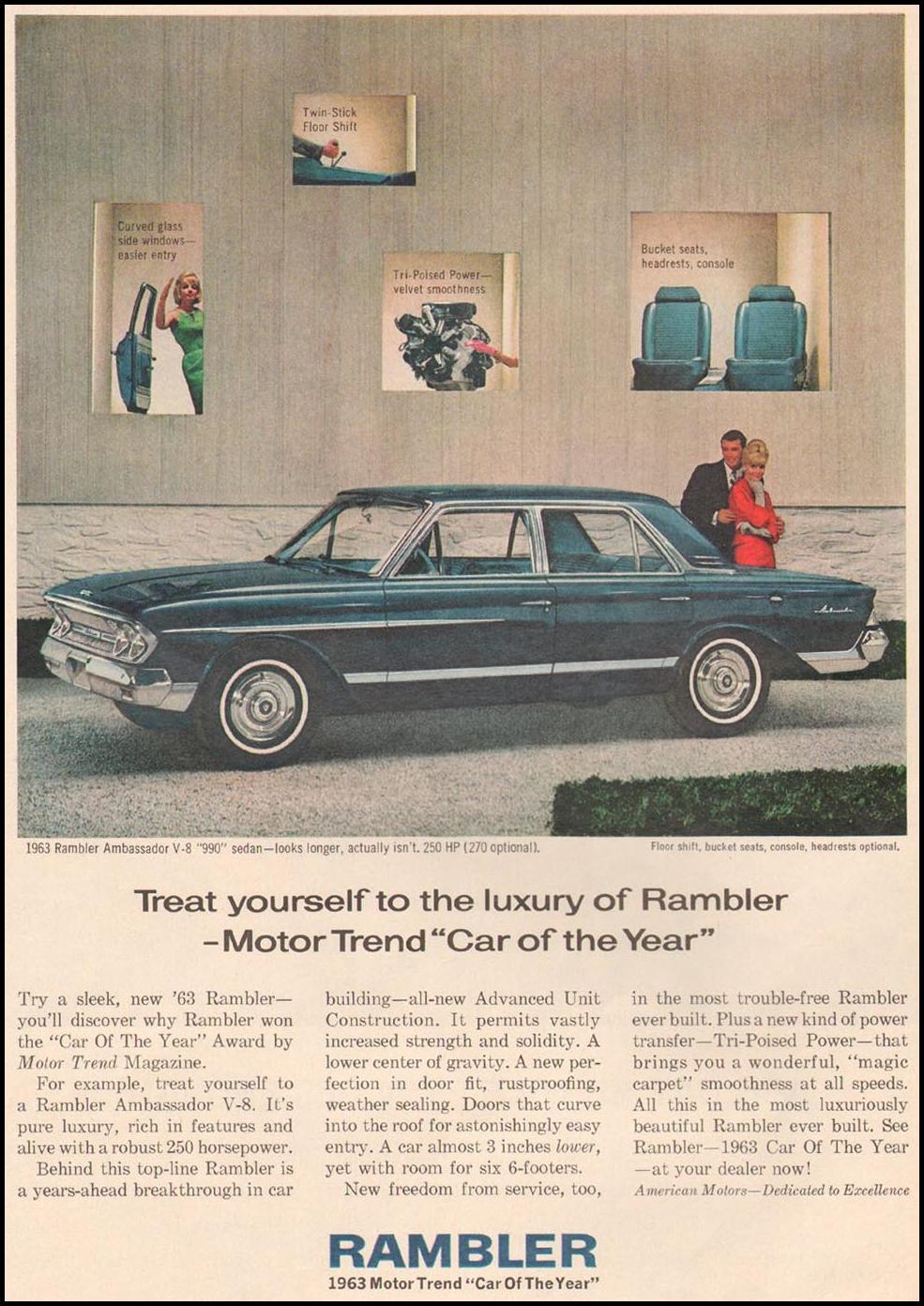 RAMBLER AUTOMOBILES TIME 02/08/1963 p. 45