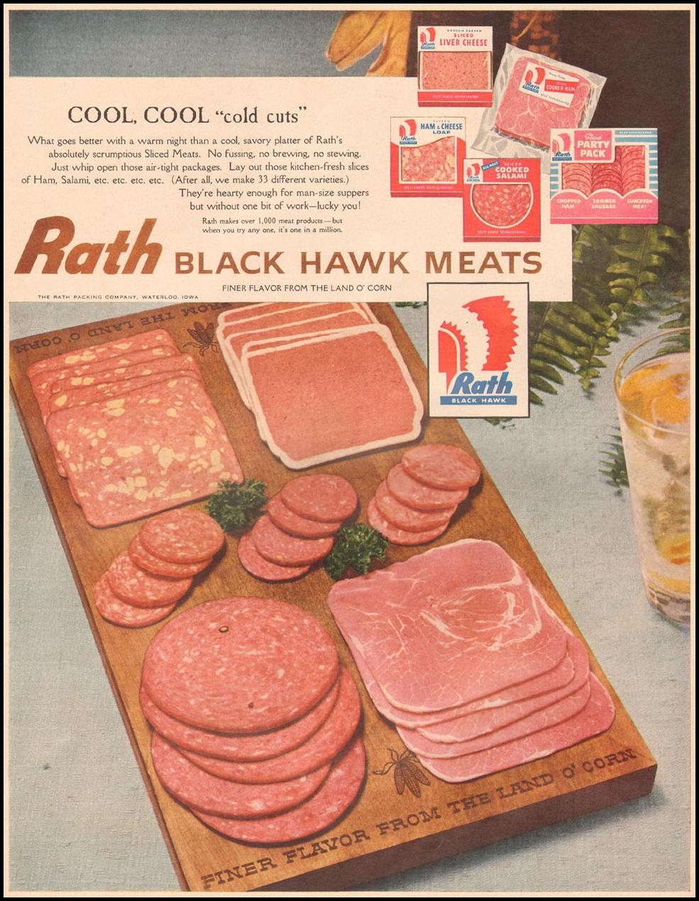 RATH BLACK HAWK MEATS LIFE 06/24/1957 p. 20