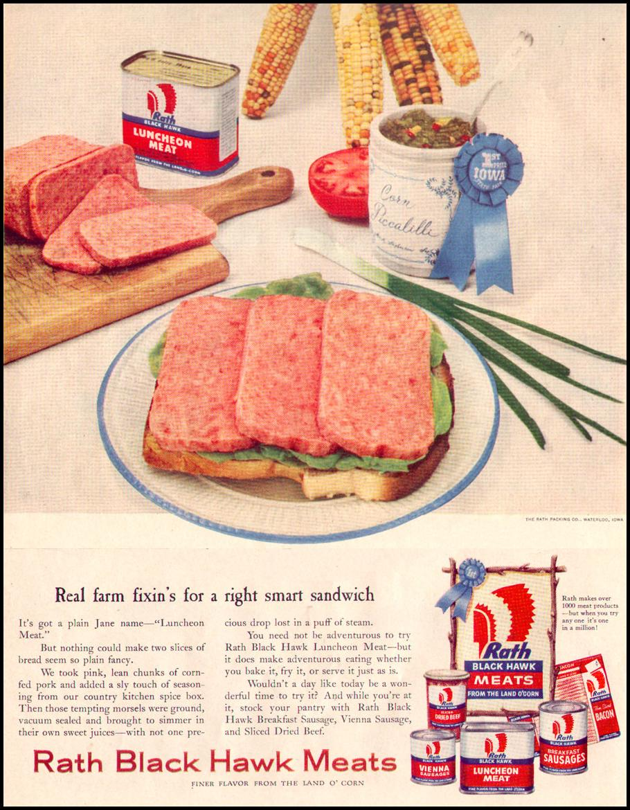 BLACK HAWK MEATS LIFE 07/12/1954 p. 38