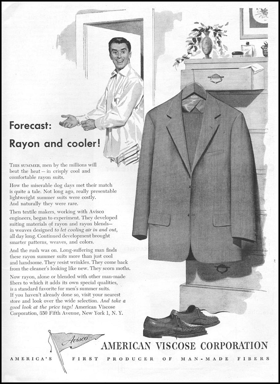 AVISCO RAYON SUMMER SUITS TIME 06/08/1953 p. 119