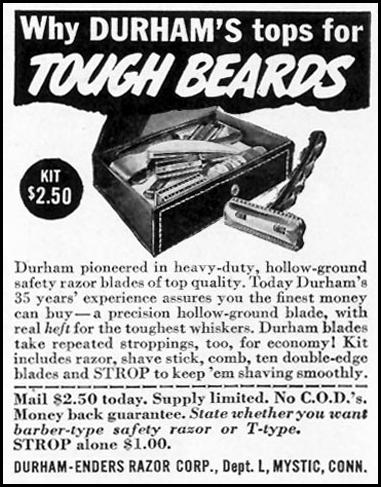 DURHAM SHAVING KIT LIFE 02/28/1944 p. 104