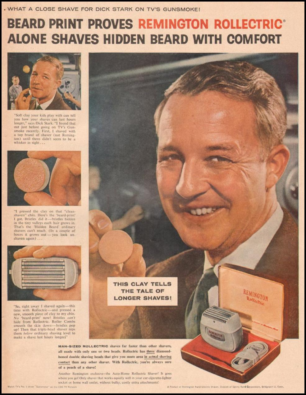REMINGTON ROLLECTRIC SHAVERS LIFE 05/19/1958