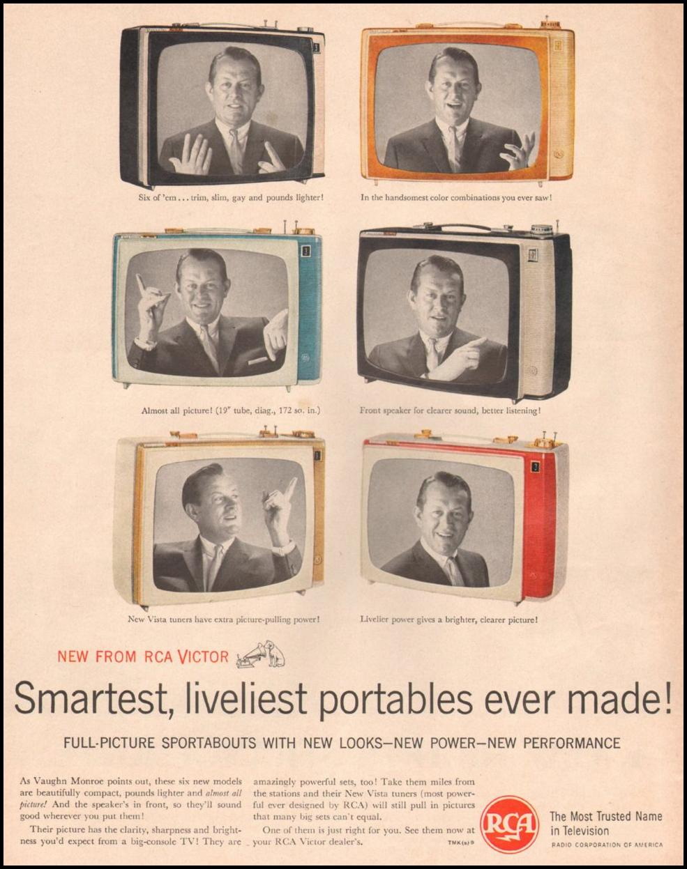 RCA PORTABLE TELEVISIONS LIFE 05/05/1961