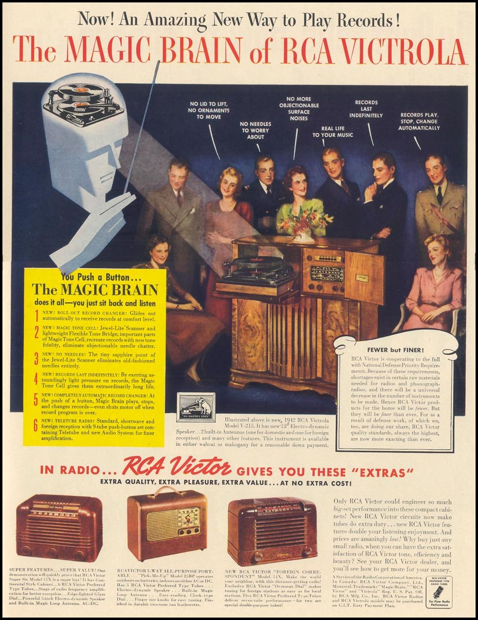 RCA VICTROLA LIFE 10/13/1941