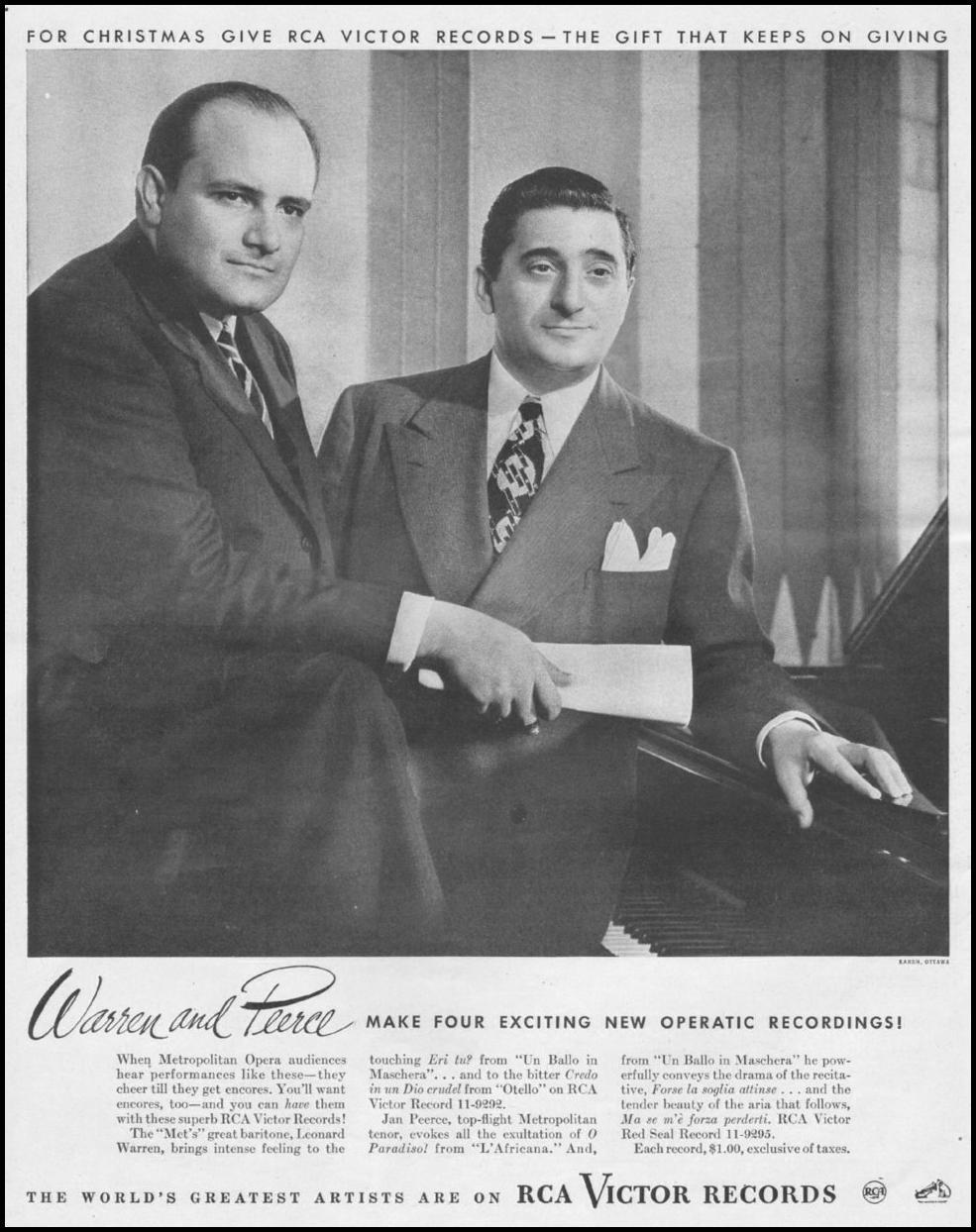 RCA VICTOR RECORDS LIFE 11/25/1946 p. 38