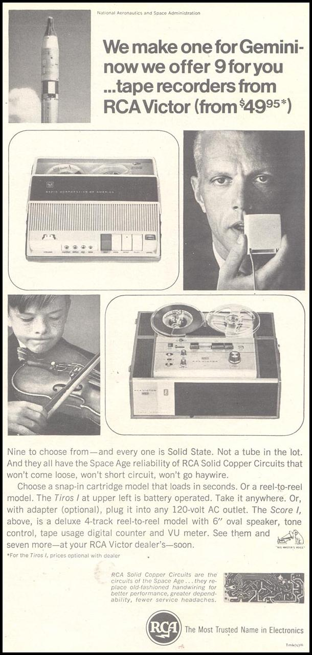 RCA VICTOR TAPE RECORDERS TIME 03/11/1966 p. 63