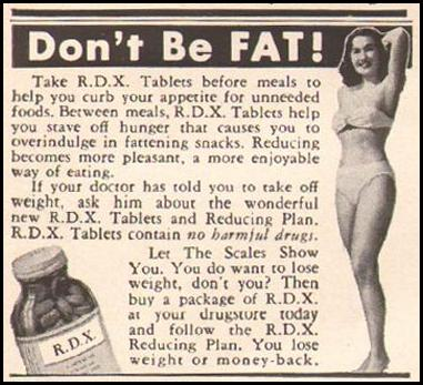 R. D. X. REDUCING PLAN LIFE 04/30/1951 p. 117