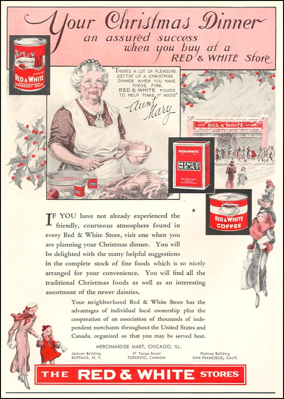 THE RED & WHITE STORES GOOD HOUSEKEEPING 12/01/1933 p. 194
