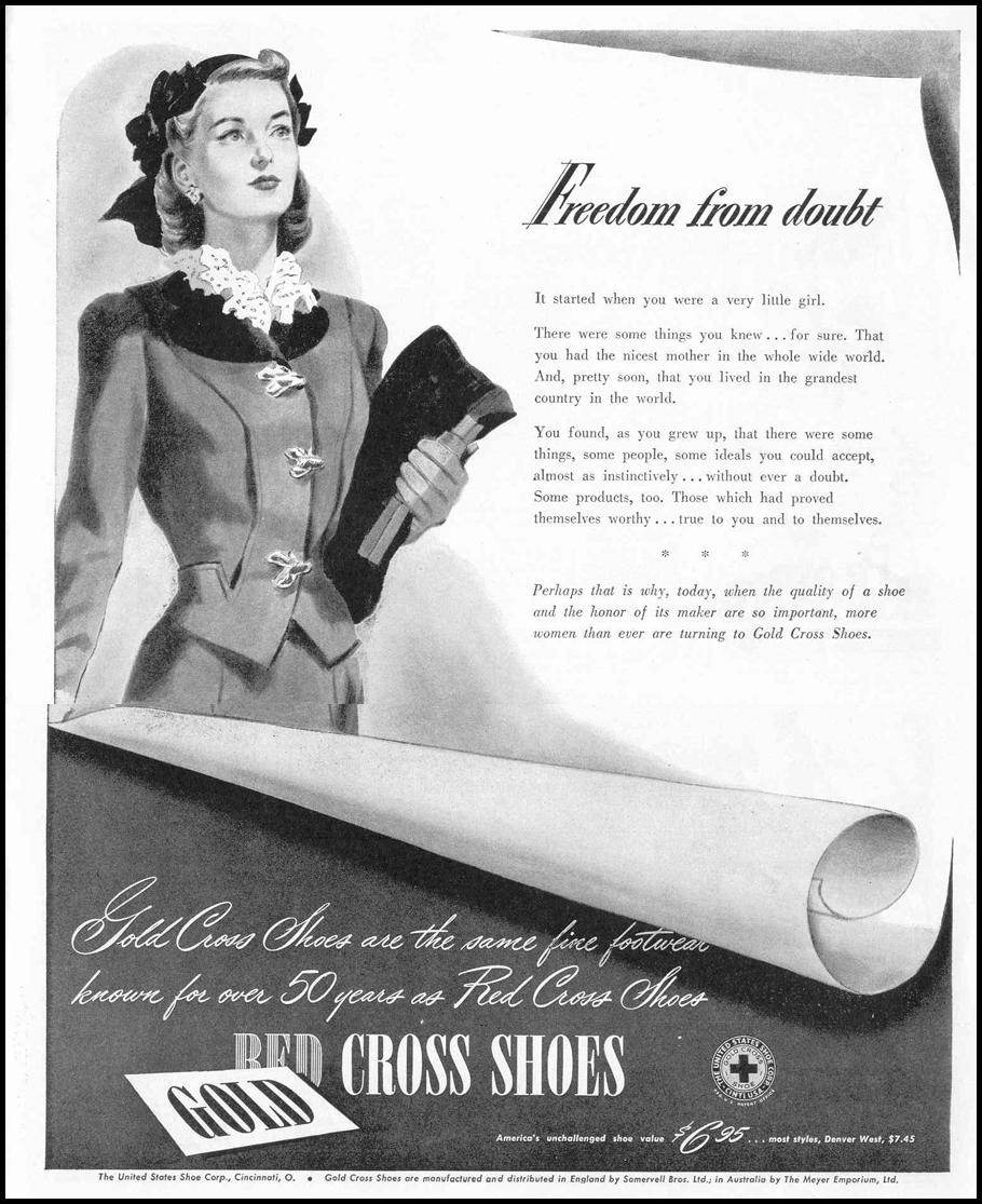 GOLD CROSS SHOES LIFE 02/14/1944 p. 101