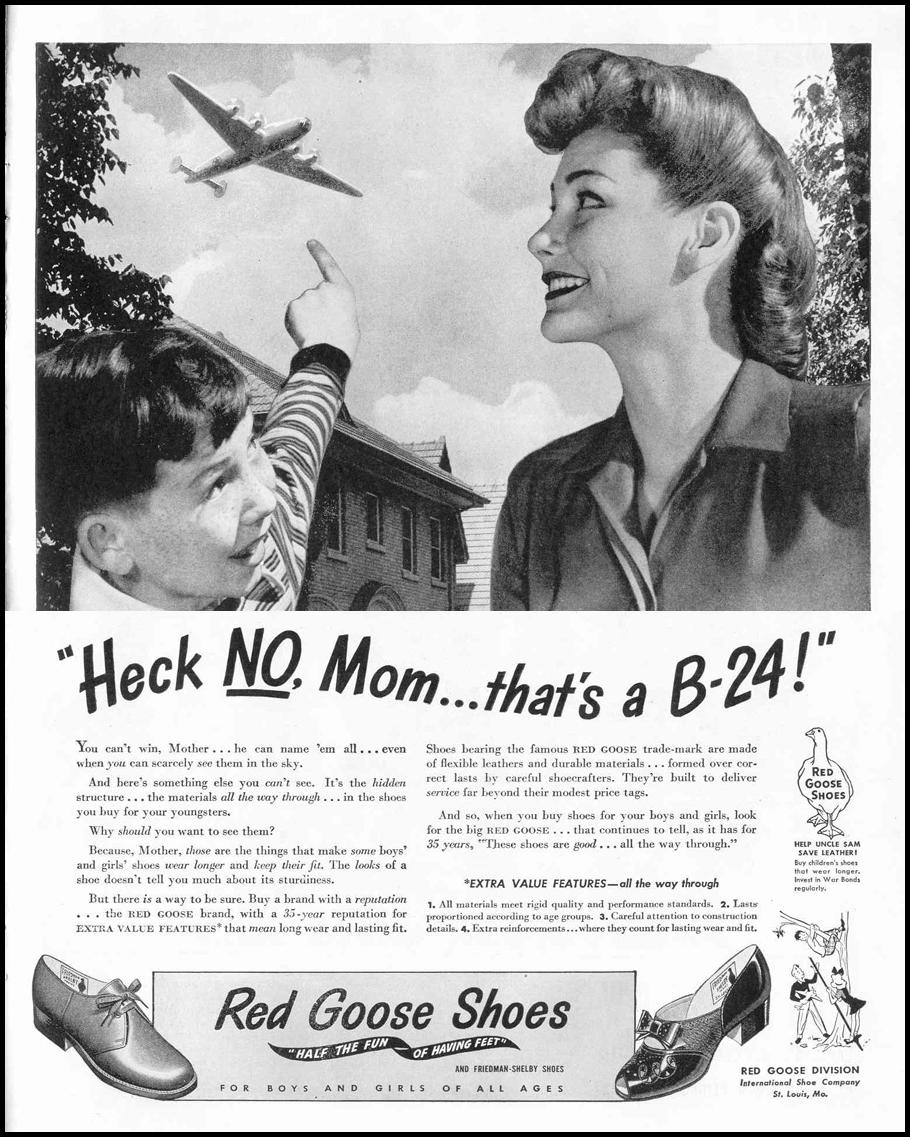 RED GOOSE SHOES LIFE 02/14/1944 p. 83