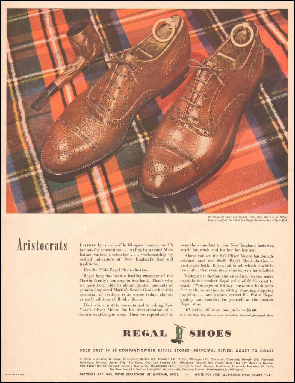 REGAL SHOES LIFE 10/25/1943