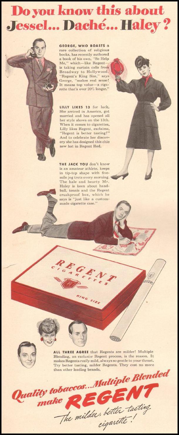 REGENT CIGARETTES LIFE 06/22/1942 p. 56