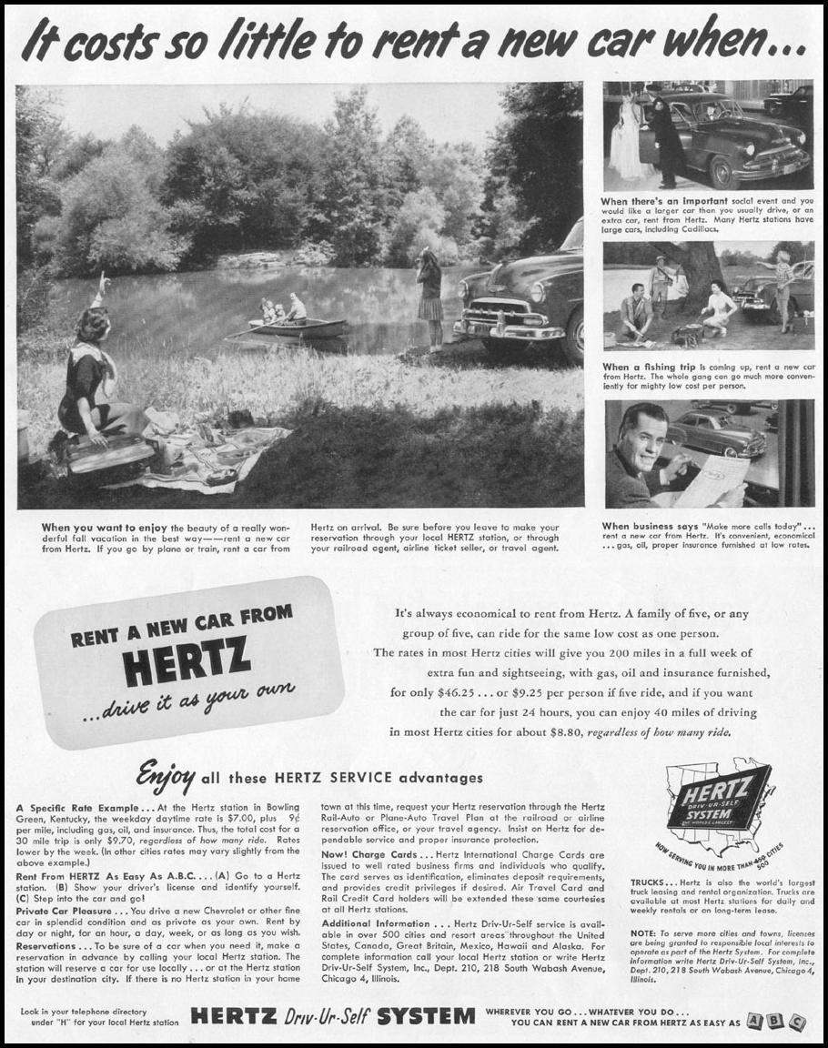 CAR RENTAL LIFE 10/13/1952 p. 4