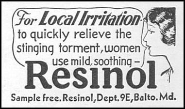 RESINOL GOOD HOUSEKEEPING 04/01/1936 p. 230