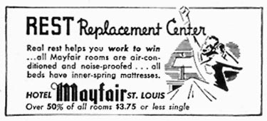 HOTEL MAYFAIR TIME 06/15/1942 p. 64