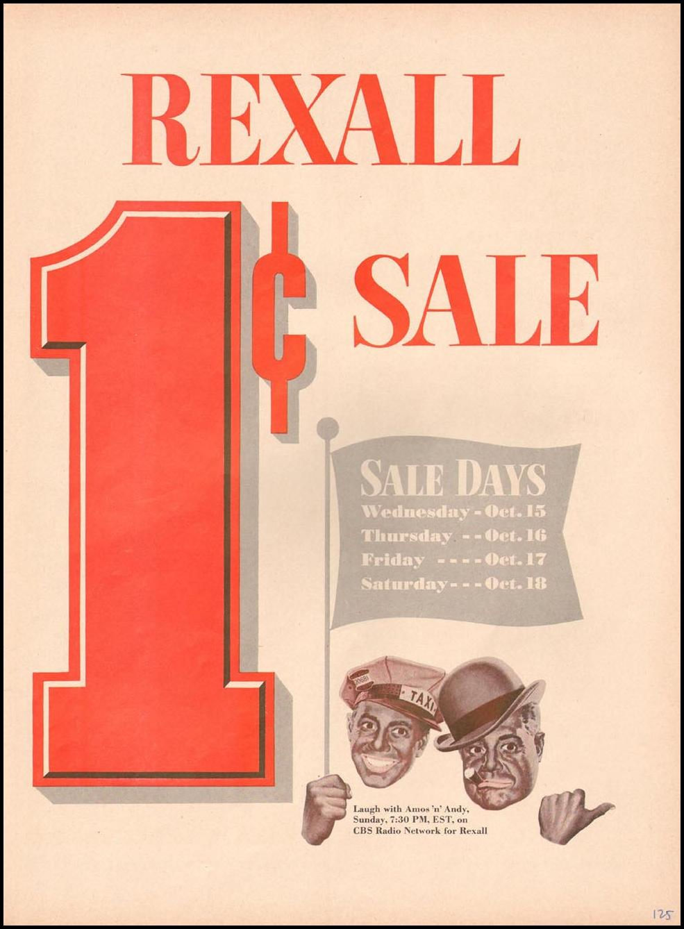 REXALL DRUG STORES LIFE 10/13/1952 p. 125