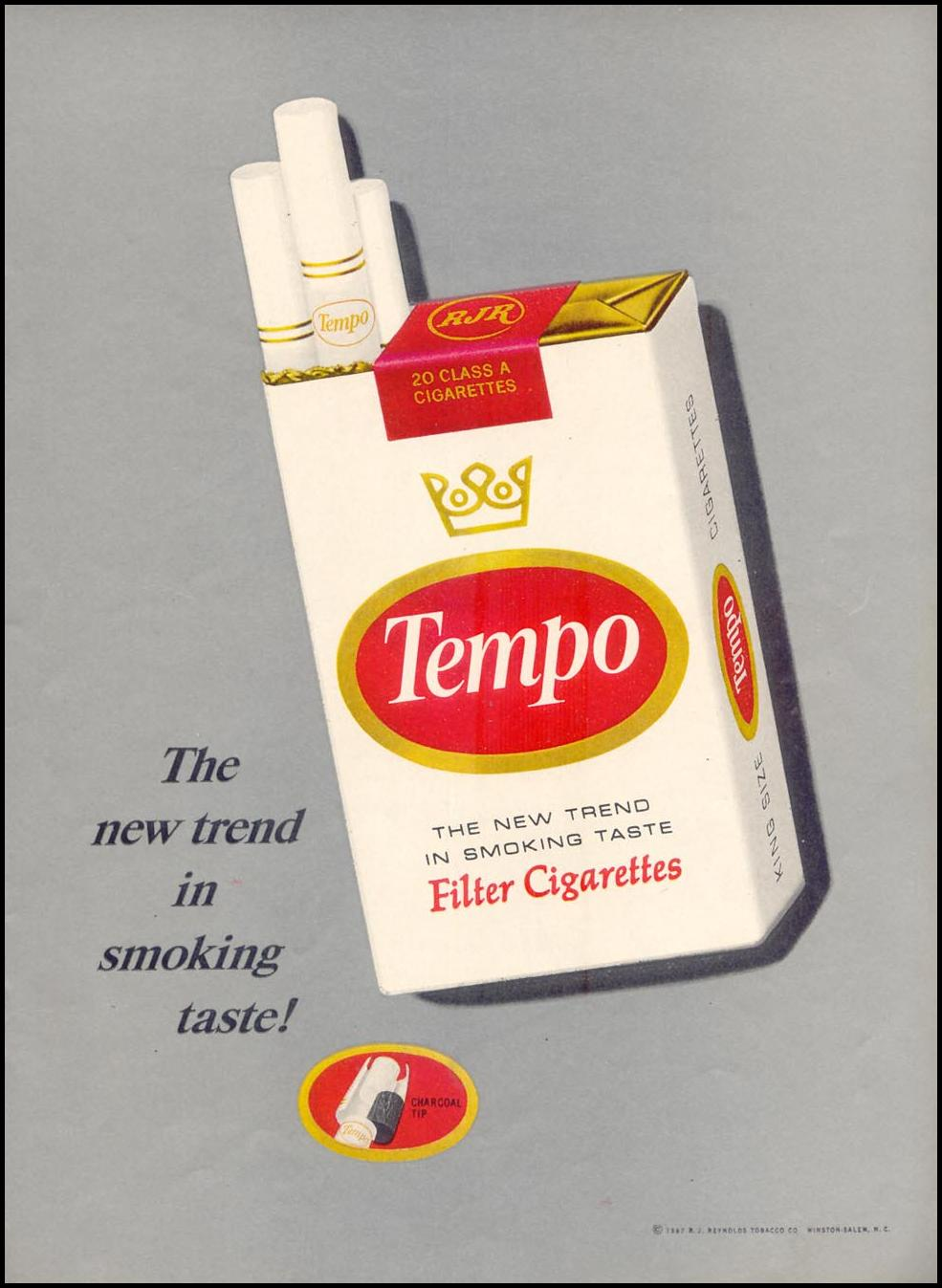 TEMPO CIGARETTES TIME 04/21/1967 p. 35