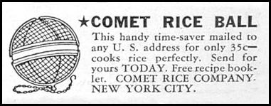 COMET RICE BALL GOOD HOUSEKEEPING 12/01/1934 p. 199