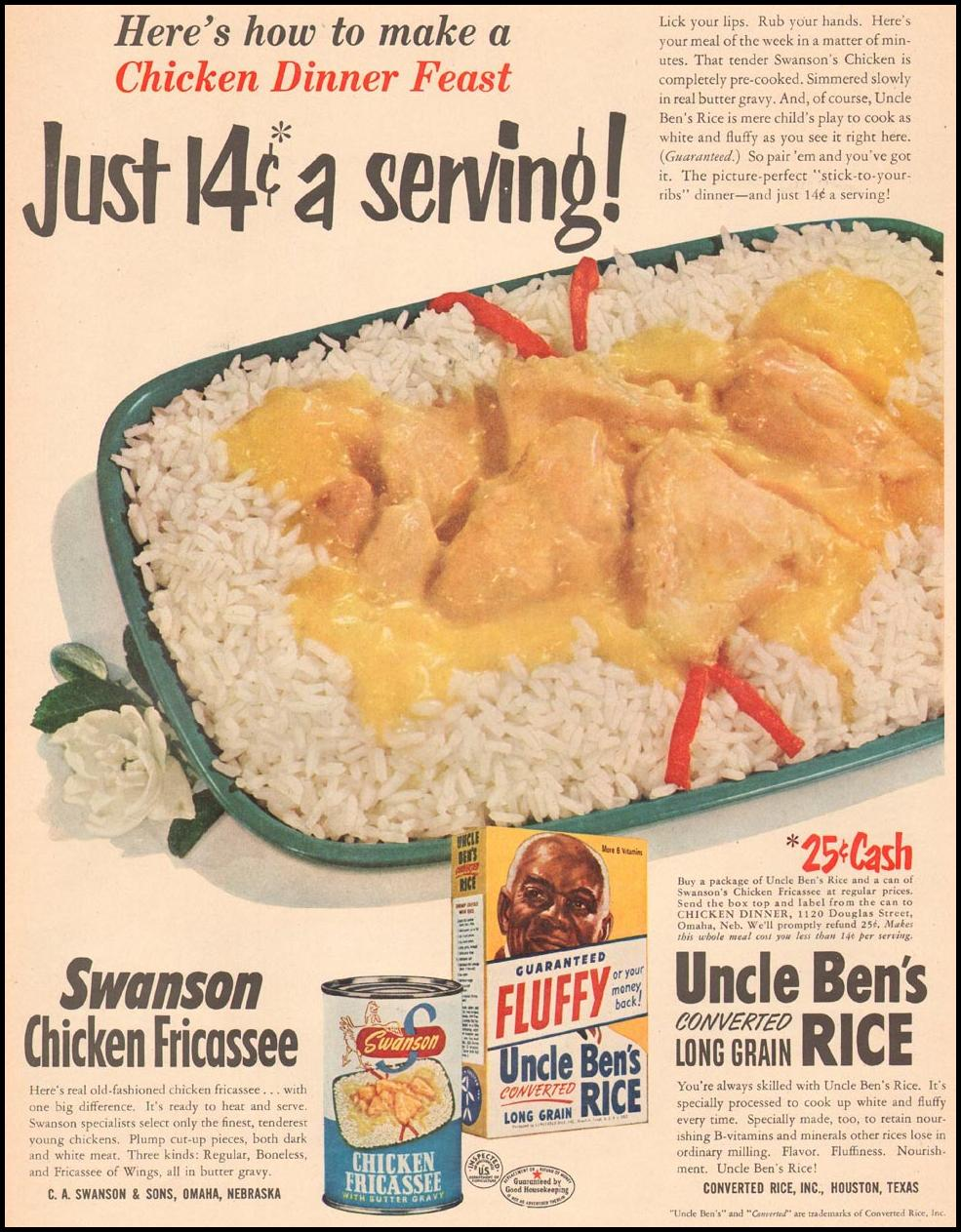 UNCLE BEN'S CONVERTED RICE LIFE 02/08/1963 p. 23