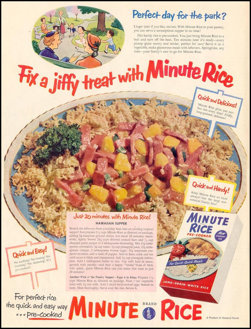 MINUTE RICE LIFE 04/13/1953 p. 172
