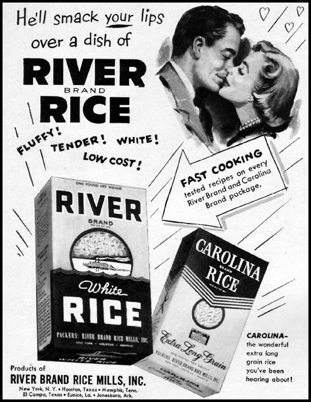 RIVER BRAND RICE LIFE 10/01/1951 p. 114
