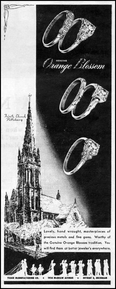 ENGAGEMENT AND WEDDING RINGS LIFE 03/12/1945 p. 20