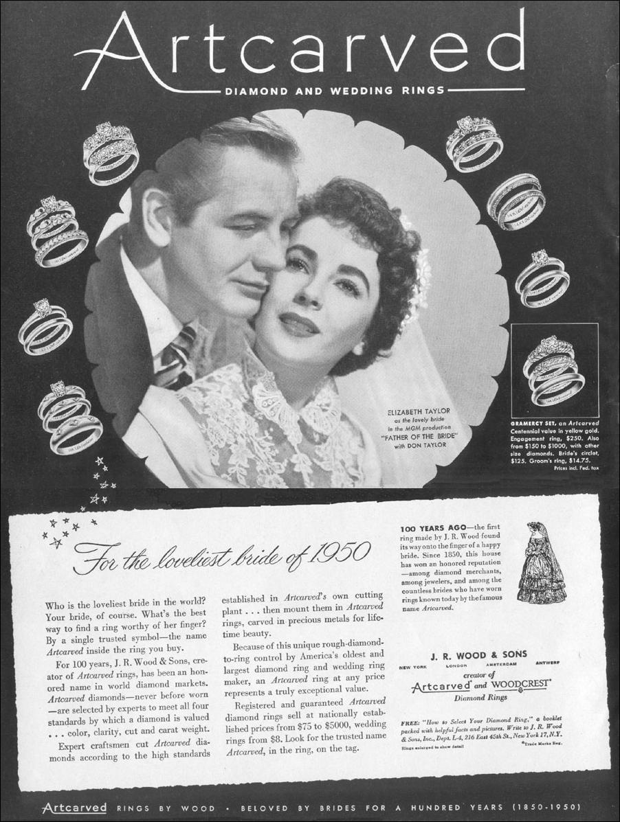 ARTCARVED DIAMOND AND WEDDING RINGS LIFE 06/05/1950 p. 63