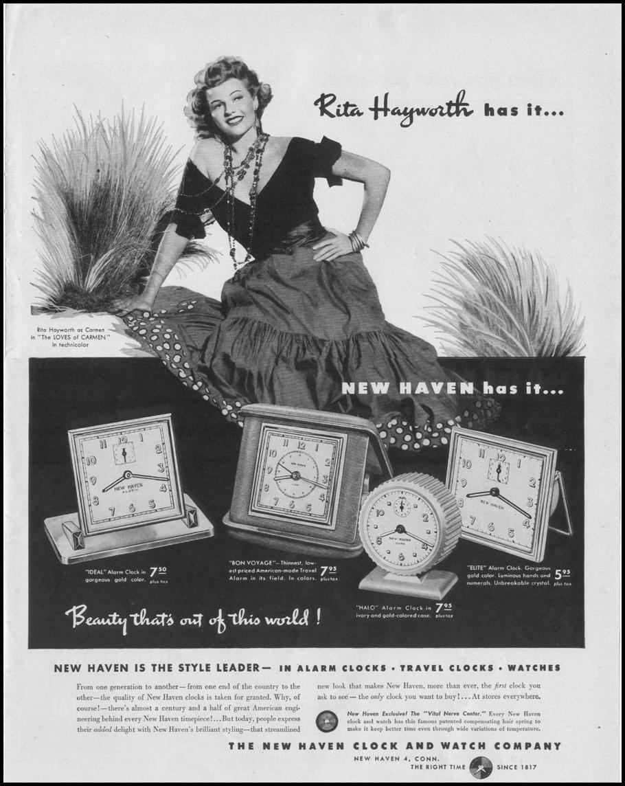 NEW HAVEN CLOCKS LIFE 10/11/1948 p. 25