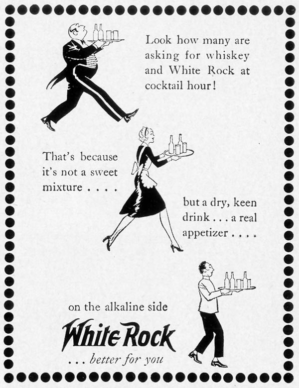WHITE ROCK MINERAL WATER LIFE 09/27/1937 p. 93