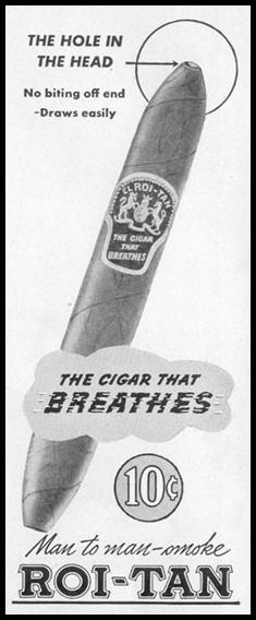 ROI-TAN CIGARS LIFE 10/11/1948 p. 90