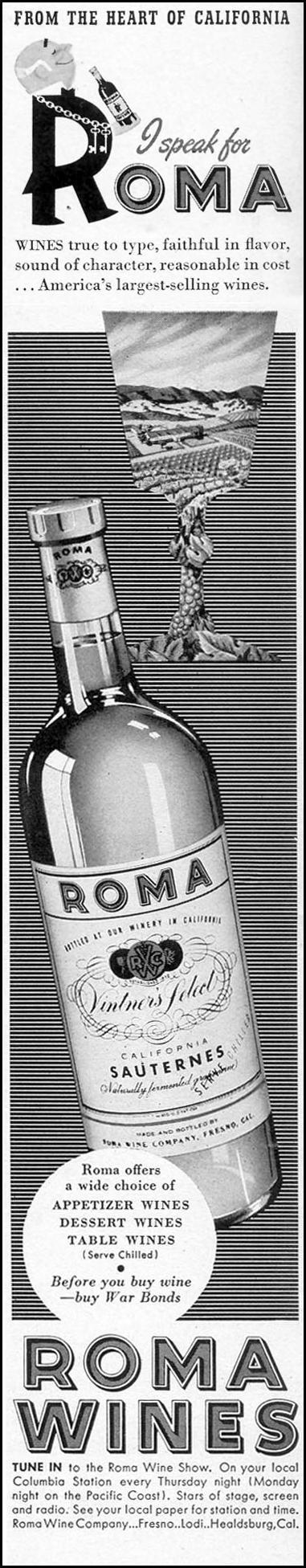 ROMA WINES LIFE 02/21/1944 p. 2