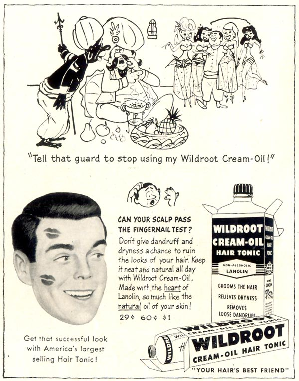 WILDROOT CREAM-OIL HAIR TONIC LIFE 07/06/1953 p. 84