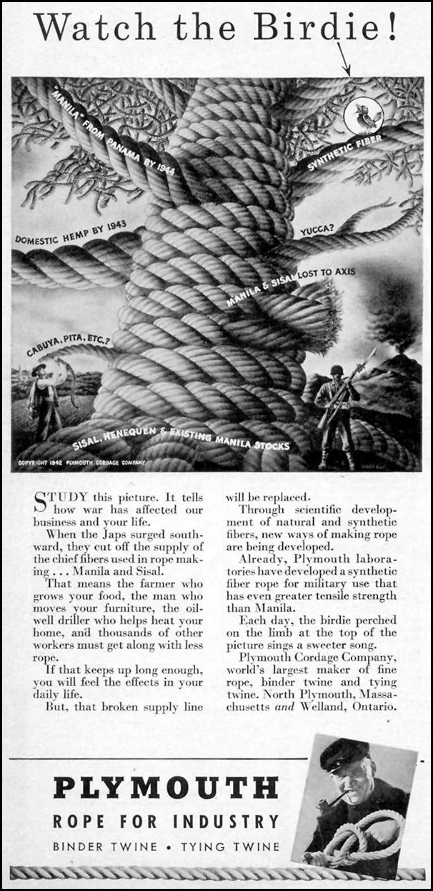 PLYMOUTH ROPE FOR INDUSTRY TIME 12/28/1942 p. 4